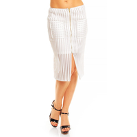 Skirt Sweewe 19452 white 3 pieces