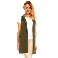 Weste Long Ayanapa 6840 olive 6 stück