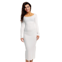 Dress Voyelles C380 white 1 Pieces