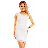 Dress Lucce LC-6011 white B 3 pieces
