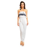 Overall Flamant Rose R5449