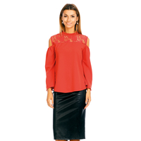 Blouse G330 red 1 Pieces