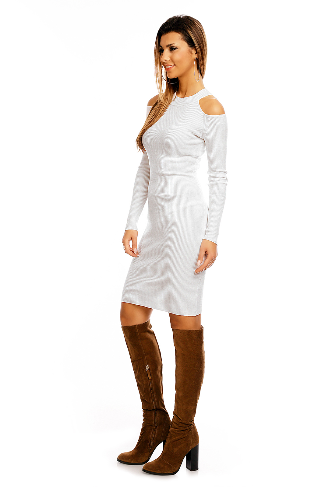 Kleid SHK K30 Weiss - One Size