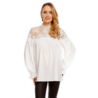 Top Long Sleeve Luzabelle 9195 White S/M