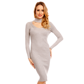 Kleid Lely Wood T6018 - One Size