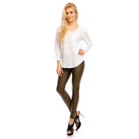 Top Langarm Noemie & Co C-228 Weiß L/XL