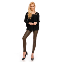 Top Langarm May MC8263 Schwarz M/L