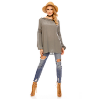 Top Long Sleeve Fabio 8598 Olive - One Size
