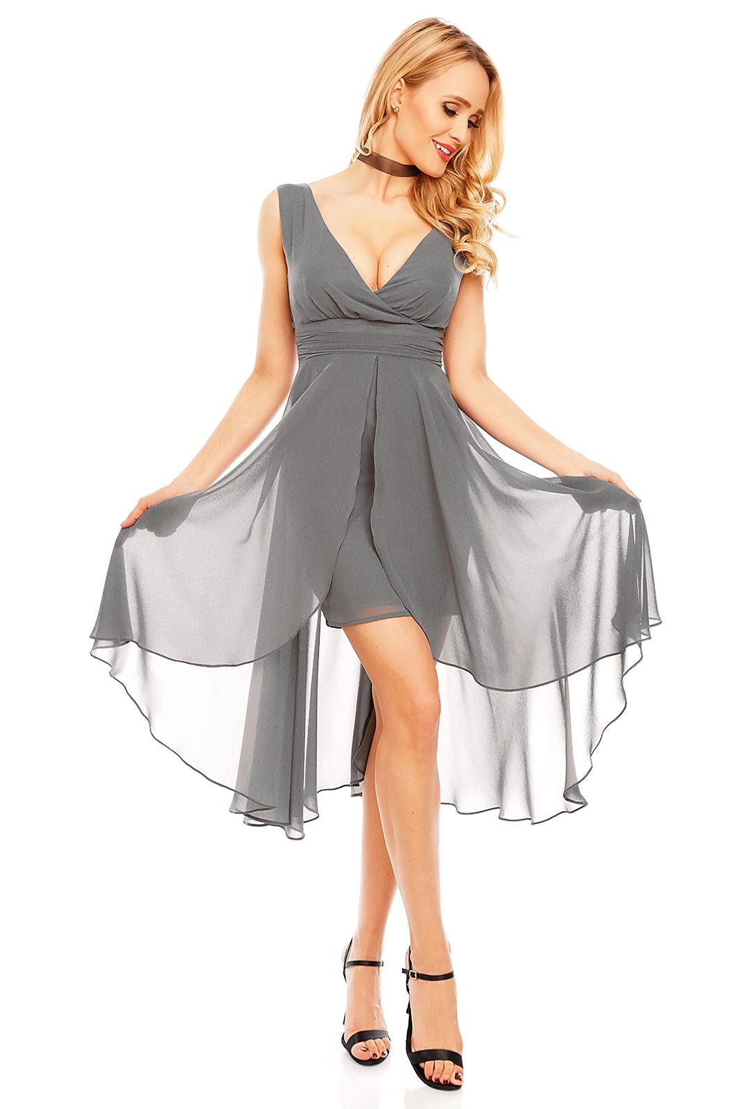 Kleid Mayaadi HS-256 Dunkelgrau XL