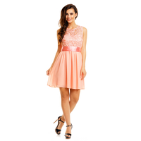 Dress Mayaadi HS-367 Light Pink S
