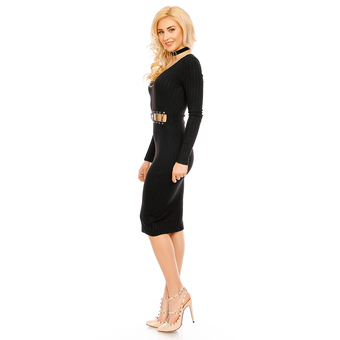 Kleid Eight Paris EP15378 Schwarz