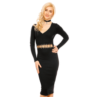 Kleid Eight Paris EP15378 Schwarz L