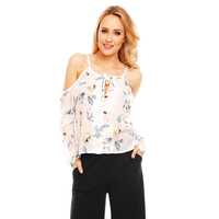 Top Langarm Eight Paris EP15482 Weiss M