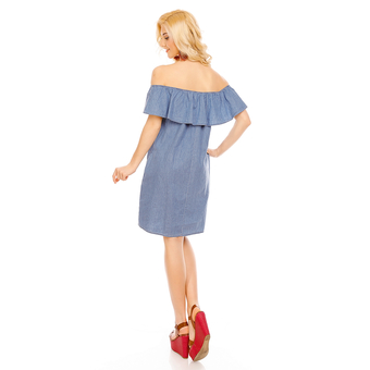 Kleid Fee Red J1306 Blau