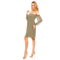 Dress Noemi Kent SL-203 Khaki L