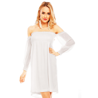 Dress Noemi Kent SL-203 White S