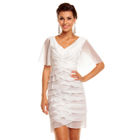 Dress Mayaadi HS-343  White L