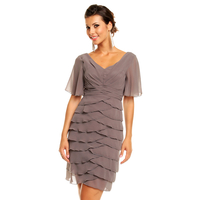 Dress Mayaadi HS-343 Grey M