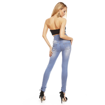 Pants Jeans Simply Chic V050 Blue