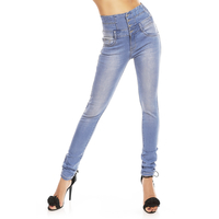 Pents Jeans Simply Chic V050 Blue XS