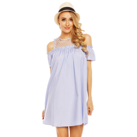 Kleid Showny MR709-6 Blau M