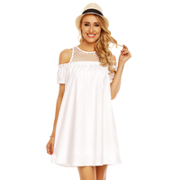 Kleid Showny MR709-6 Weiß M