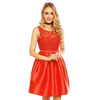 Kleid Charms M-8178 Rot L