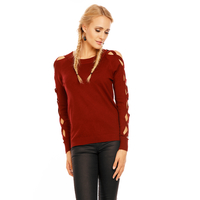Pullover Van Der Rock V6901.13 Bordeaux - One Size