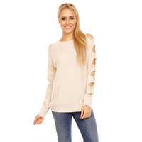 Pullover Luzabelle 22168 Beige - One Size