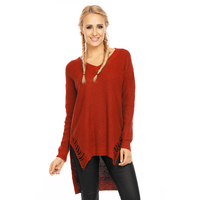 Pullover Emma Ashley PU9001 Bordeaux - One Size