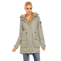 Jacke Urban Surface D7210A44387A Olive L