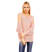 Pullover Bisous Project S564 Light Pink - One Size