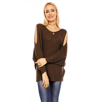 Pullover Bisous Project S564 Khaki - One Size