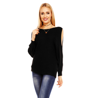 Pullover Bisous Project S564 Black - One Size