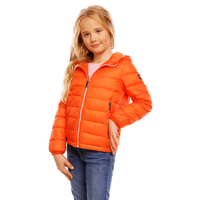 Kinder Jacke Daunen Jayloucy JC5025 Orange Gr.4