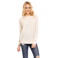 Pullover Emma Ashley 8993 Beige - One Size