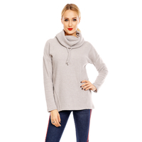 Pullover Sublevel D1044N01255A Hellgrau S