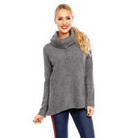 Pullover Sublevel D1044N01255A Dunkelgrau S