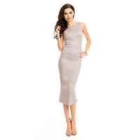 Kleid Lely Wood TJ6366 Grau - One Size