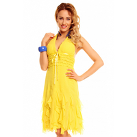 Dress Mayaadi HS-310A Yellow S