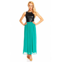 Dress Mayaadi HS-301L Black-Green M