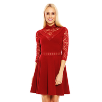 Kleid Esther.H 19078 Bordeaux XL