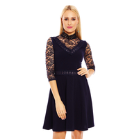 Kleid Esther.H 19078 Dunkelblau XL