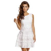 Dress Jusdepom R956 White M/L