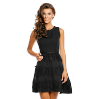 Dress Jusdepom R956 Black S/M