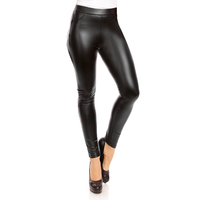 Leggins Leder Optik Jophy Co 9807 Schwarz L