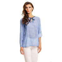 Blouse Moewy 2675N-TP Blue S/M